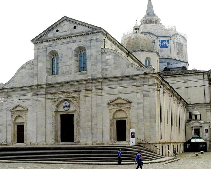 Церковь в которой лежит Туринская плащаница