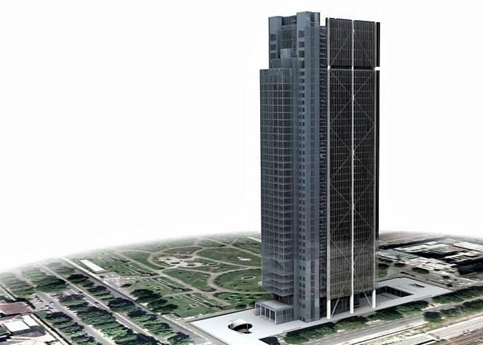 Туринский небоскреб банк