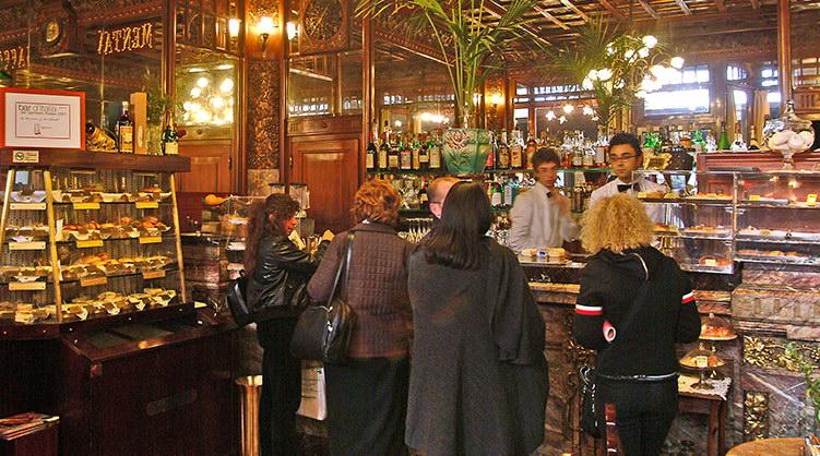 Знаменитые туринские кафе в Италии