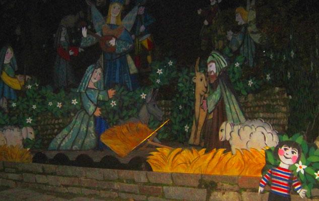 Турин Италия рождество