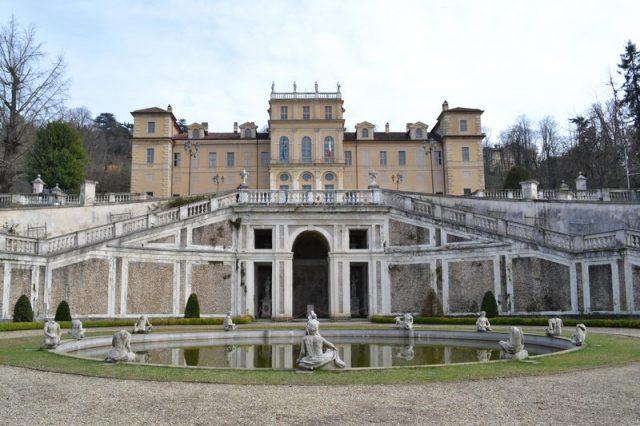 Королевская вилла в Турине италия