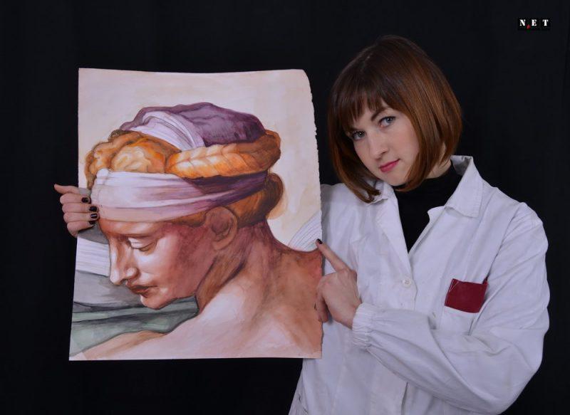 Alessia Fiore художник из Турина академия изящных искусств Турин Италия