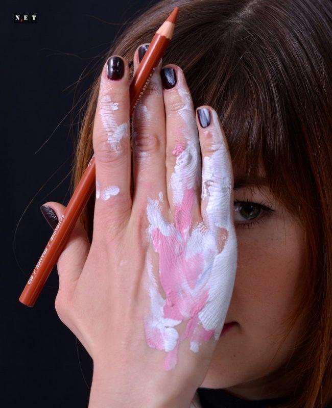 Alessia Fiore pittrice Torino Italia