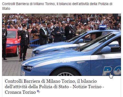 Преступность в неблагоприятных районах Турина берется под контроль