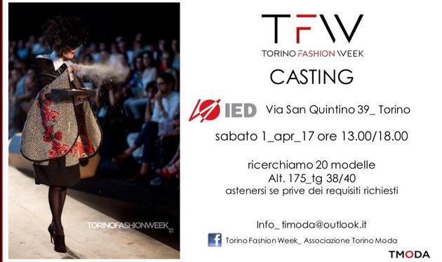 Неделя высокой моды в Турине Все кастинги Турина
