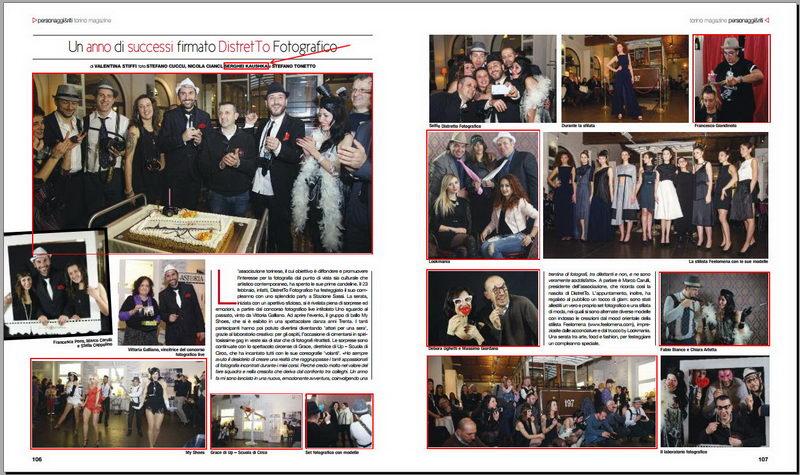 Kaushka Photography su Torino Magazine 2017 fotografo professionista О нас пишут итальянские СМИ Новости Турина