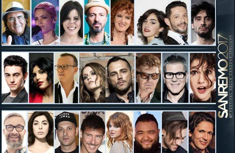 Участники Сан Ремо 2017 Фестиваль Сан-Ремо 2017 года, старые и новые исполнители участники конкурса