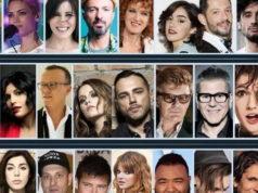 Фестиваль Сан-Ремо 2017 года, старые и новые исполнители участники конкурса