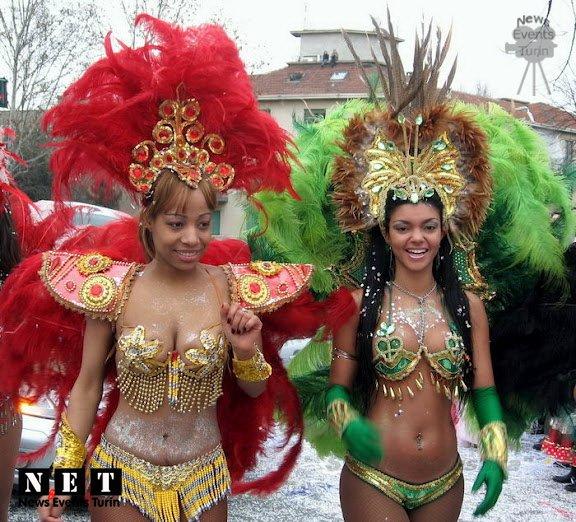 Итальянские карнавалы Турин Пьемонт 2017
