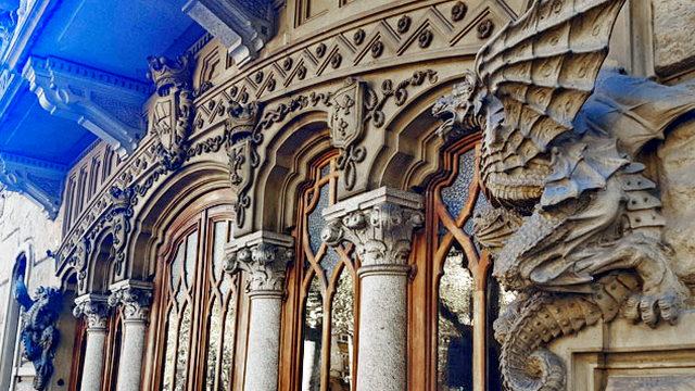 Дом Дракона в Турине италия