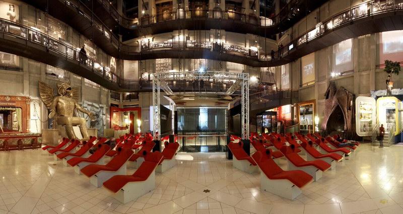 Национальный музей кинематографии в Турине Италия
