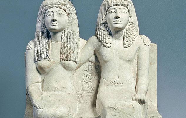 Влюбленные мумуи в египетском музее Турина