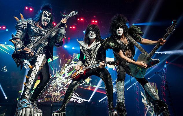 муз группа Kiss будет в Турине Италия 15 мая 2017 года.