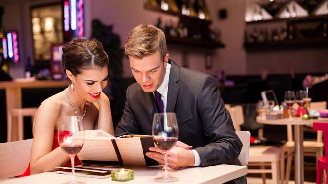 Романтический ужин на Сан Валентино в Турине
