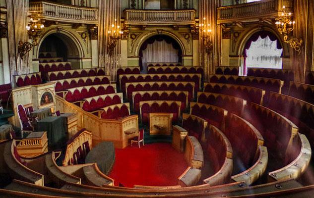 Комната депутатов первого итальянского парламента