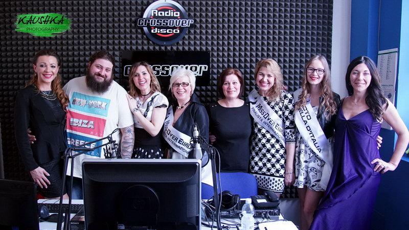 Serghei Kaushka in diretta Radio Crossover Torino Italia