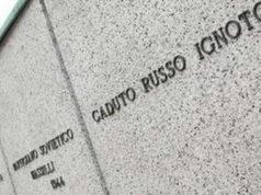 Советские партизаны в Италии - Возложение венков у могил советских партизан в Италии Турине