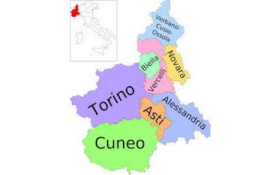 Все города Пьемонта Италия