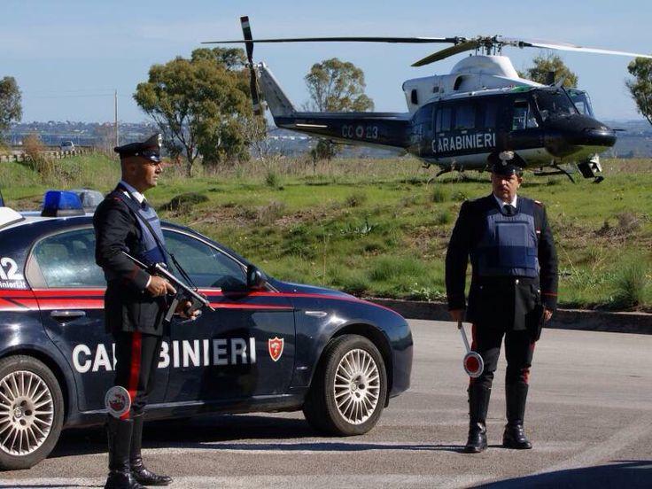 Полицейский рейд в парке Валентино в Турине