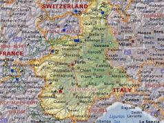 Все города Пьемонта и провинции Турина и других столиц