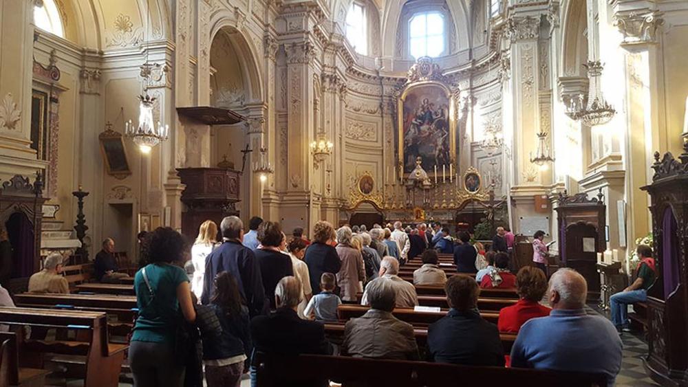 Пустые церкви в Италии