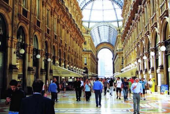 Торговая улица Милана