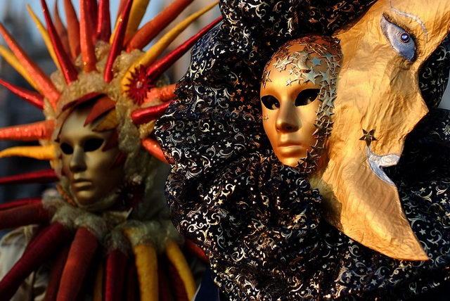 Венецианский карнавал Север Италии