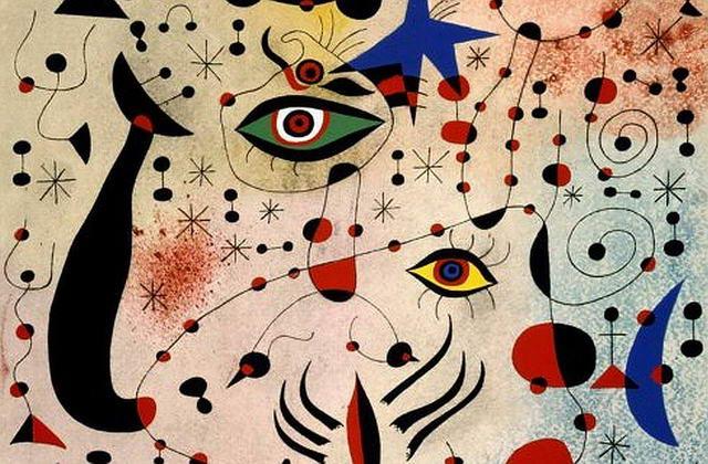 Художественная выставка Жоан Миро в Турине