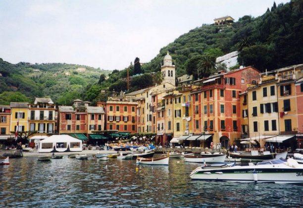 Портофино - Торговые улицы у гавани, шоппинг в Италии