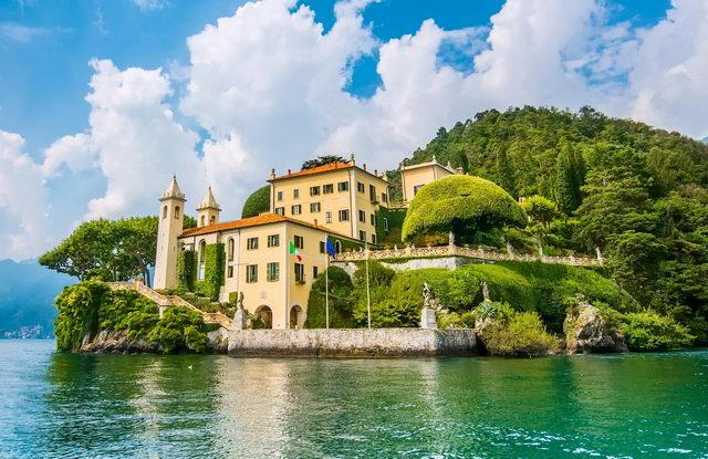 Север Италии озеро Комо