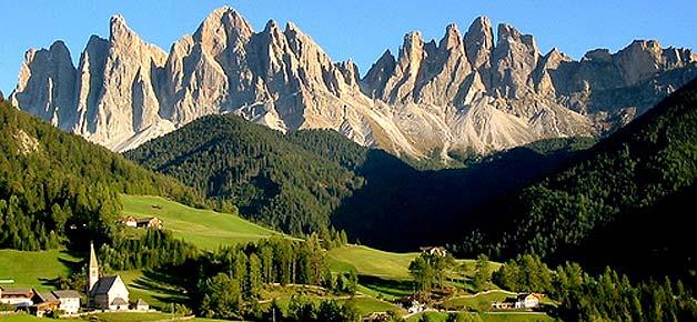 Больцано север Италия