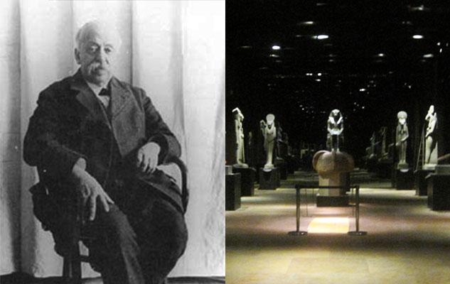 Выставка великого египтолога Турин Италия