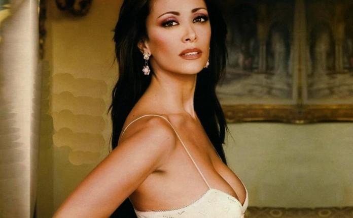 Средиземноморские красавицы итальянки Сара Вароне - телеведущая и актриса Самые красивые итальянки в мире