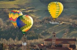 Клуб воздушных шаров в Италии Турин Мондови