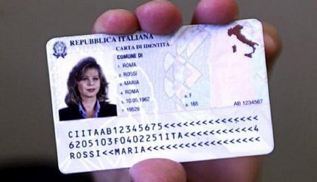 Внутренний паспорт Италия Турин новый электронный образец