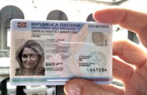 Электронное удостоверение личности Италия