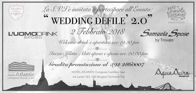 Вечер свадебной моды в Турине