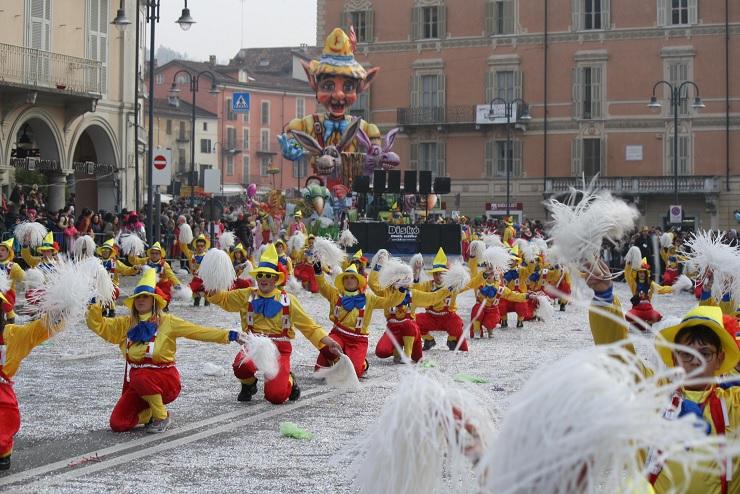 Карнавал в Пьемонте Мондови