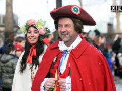 Карнавал в Италии 2018 Турине Пьемонт