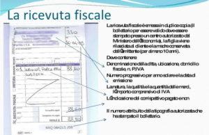 Квитанция об оплате в Италии