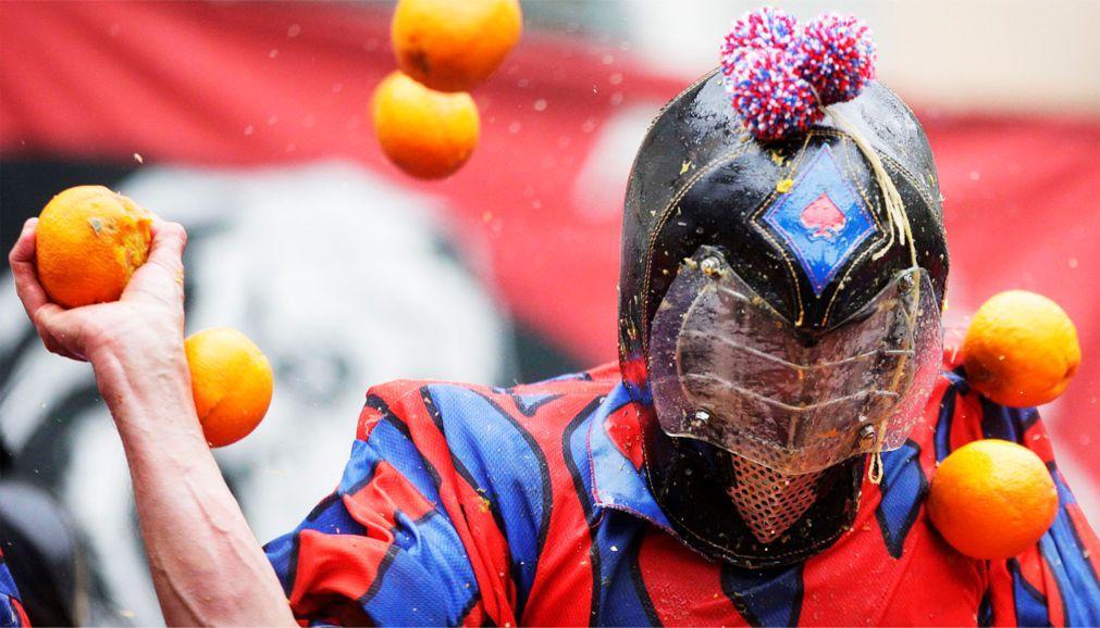Битва апельсинов 2018 в Италии