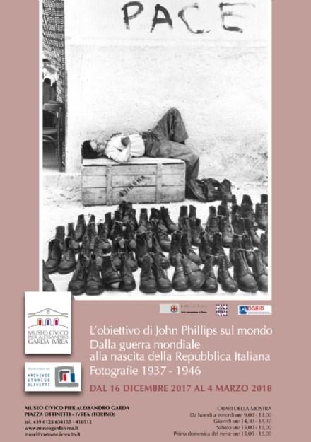 Джон Филлипс Фотографическая выставка - Ивреа