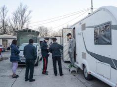 Полицейская операция против цыган в Турине