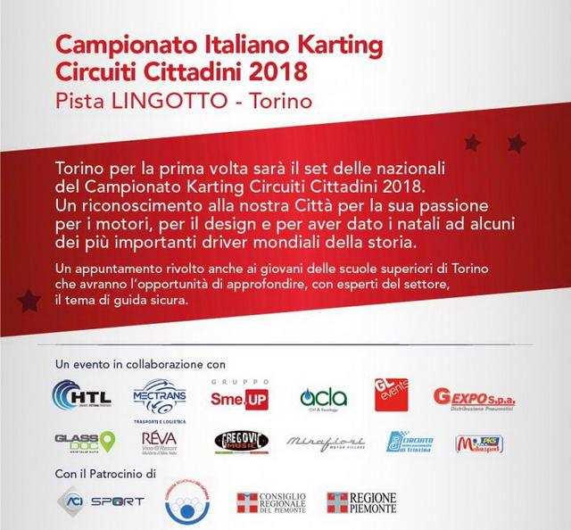 Турин Картинг Чемпионат Италии 2018 События Турина апрель 2018 года.