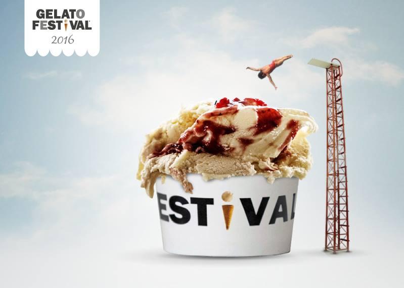 Фестиваль мороженного в Турине