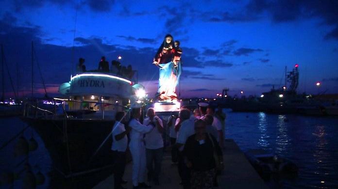 Фестиваль Мадонны в Отранто Италия