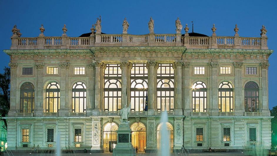 Турин зимой Посетить дворец Мадама в Турине бесплатно