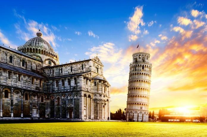 Лучшие города Италии Пиза Тоскана