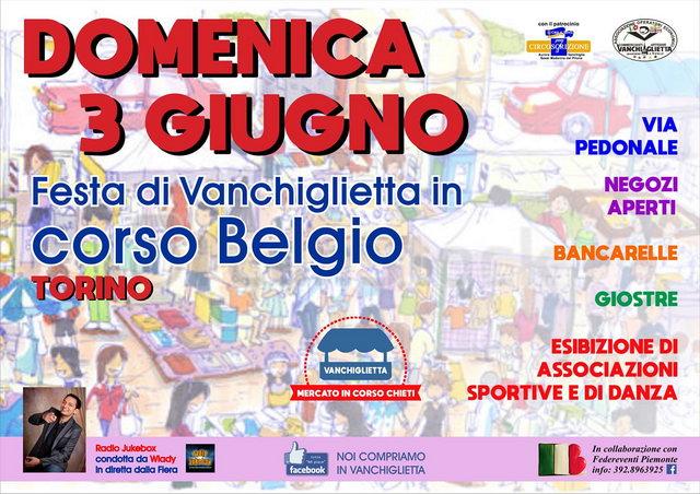 Ярмарка на corso Belgio 3 июняв Турине