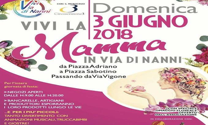 День мамы в Турине на ярмарки улицы Nanni